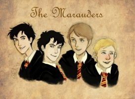 The Marauders by IzziBelle