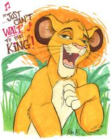 Just can't WAIT to be King by tombancroft