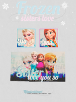 Frozen - Sisters love by TifaxLockhart