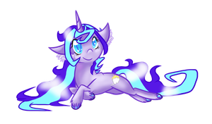 [Point Commission] Bubbly Unicorn Pony by KyuremGirl