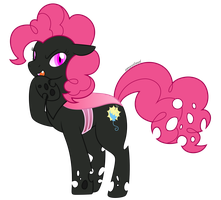 Evil Clone Pinkie Pie by cloudyrei