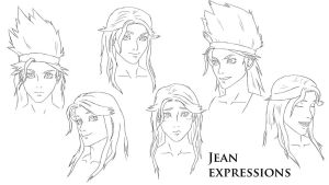 Jean Expressions by unitzer07