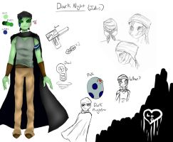 New Oc: Dark night by all-the-lovely-death