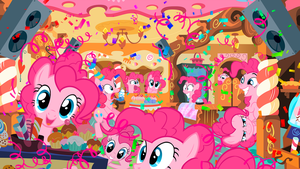 The Pink Party Fever by ryuuichi-shasame