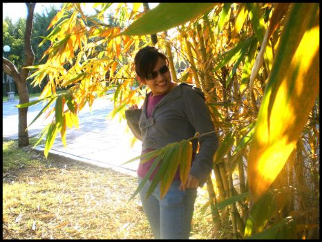 Nydia in Autumn by papiii