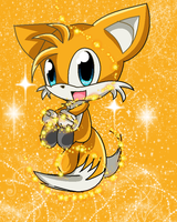 tails the 2 tails fox by hypehjackieXD