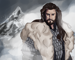Thorin Oakenshield by Amaryia