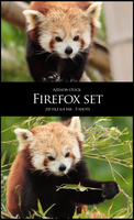 Firefox Set by Azenor-stock