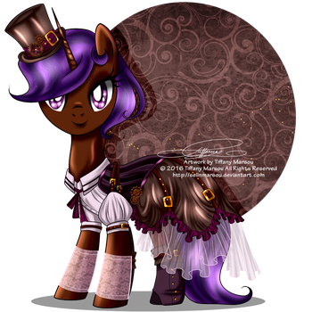 Commission - Steampunk Eliyora by selinmarsou