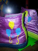 finished Pinkie Pie shoes by Coall