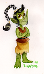 Monster a Day Challenge - Orc/Goblin by TopperHay