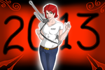 Lets rock this year!-2013 by DemonicCriminal