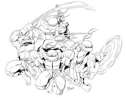 Teenage Mutant Ninja Turtles by TheRealMillard