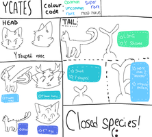 Ycates specesi guide by tvmblr
