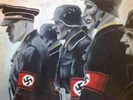 Dead Snow Nazi zombies by xKookAx