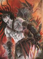 The strongest warrior by ClAyMoRe--MiRiA
