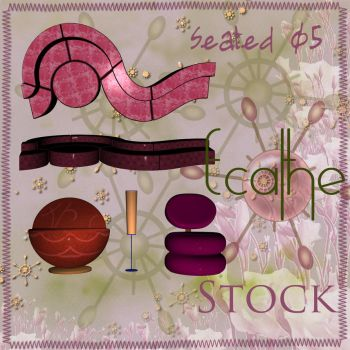 seated stock pack 05 by Ecathe