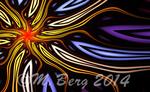 Stained Glass Sun by myberg2