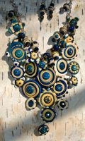 Assembled Necklace: Erosion by copperrein