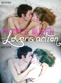 Lovers Action by PurpleQueen7
