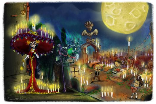 The Book of Life by samycat