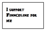 I Support Finnceline for me Stamp by MarcosPower1996