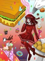 HBD LADY - I'm hungry by Browntaffy