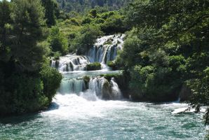 waterfalls krka by LisiTisaKi