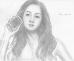 Kim Tae Hee by vongolagirl12