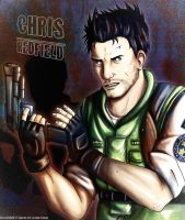 Chris Redfield: Reload by biscuit-the-great
