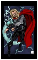 Thor - Colored Version by MBrazee