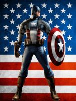 Captian America Wallpaper by 92381