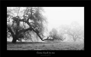 Come Back to Me by Intrigueme