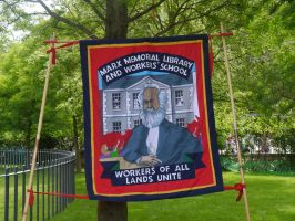 Marx Memorial Library Banner by Party9999999