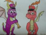 Spyro Marching Band 3 by smartguy123