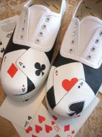 Shoes - Lucky Cards by invictas-shoes