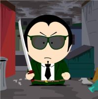 GR Agent Six in South Park by ShugoJess0313