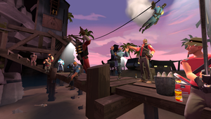 Red-Blu Team Vacation Team Fortress 2 (SFM) by Irufort