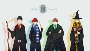 South Park-Hogwarts Now! by JS-Coach