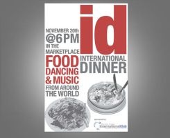 International Dinner Poster by ltgustin