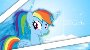 Rainbow Dash Loyalty by LuGiAdriel14