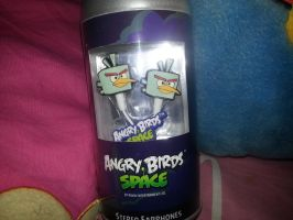 Angry Birds Space Earpiece by MeganLovesAngryBirds