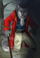 The gentleman werewolf by AxelWolf04