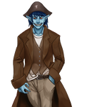 Blue Jagermonster Scout Nadam by ph33rtehcute0n3s