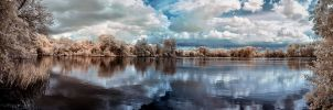 Lakeside Panorama by vw1956
