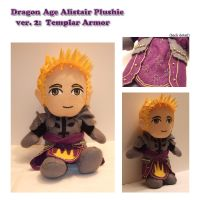 DA Alistair Plushie: Templar by kinbari