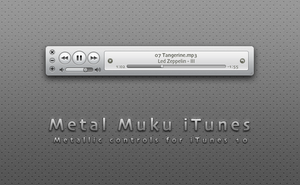 Metal Muku iTunes 10 by hotiron