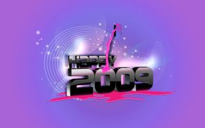 Happy 2009 by DigitalPhenom