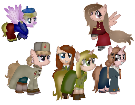 Latvian And Estonian And Poland And Lithuanian And by naincatgirl