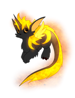 [CLOSED] Fire kirion puppy by Ayinai